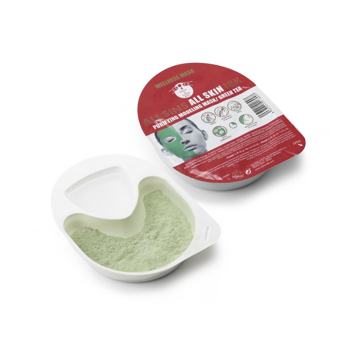 MODELING MASK PURIFYING / GREEN TEA